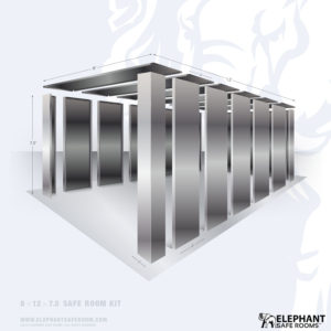 8x12 Elephant Safe Room Kit