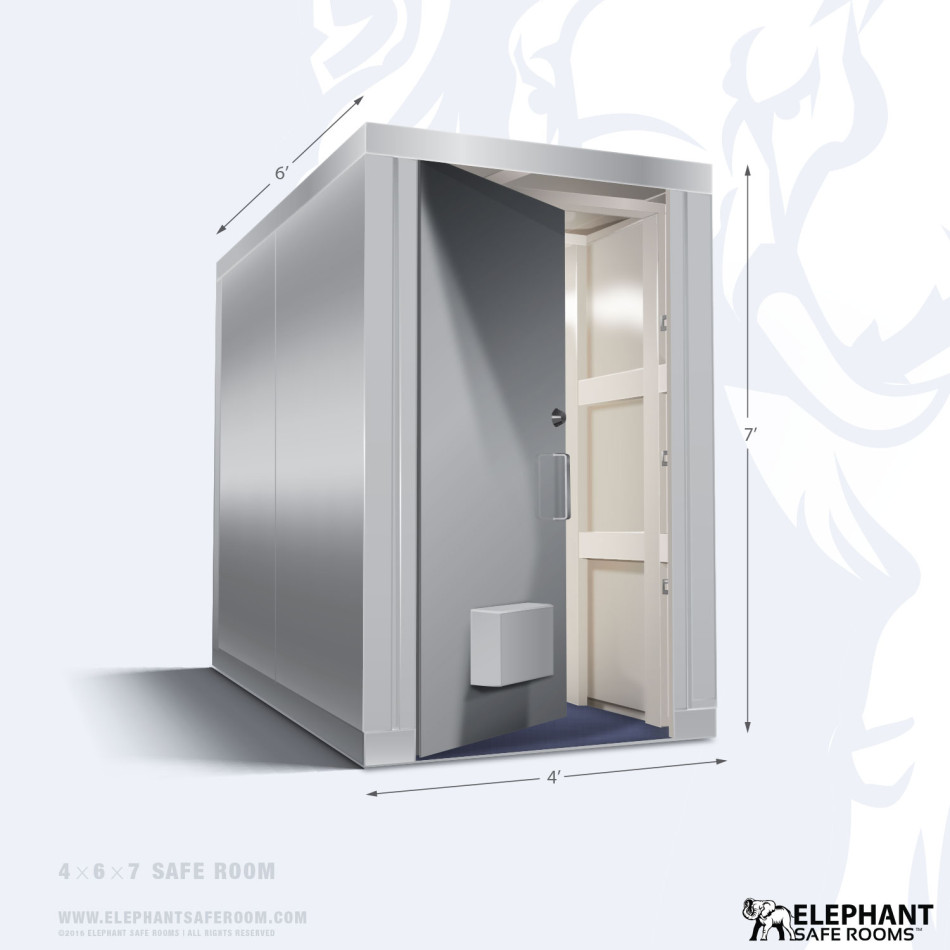 4 39 x 6 39 safe room elephant safe room for Safe rooms