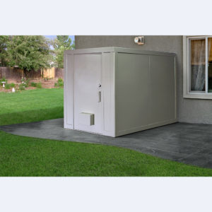 Elephant Safe Room - Installed outside the home