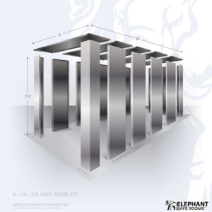 6' x 10' Panelized Safe Room Kit by Elephant Safe Room