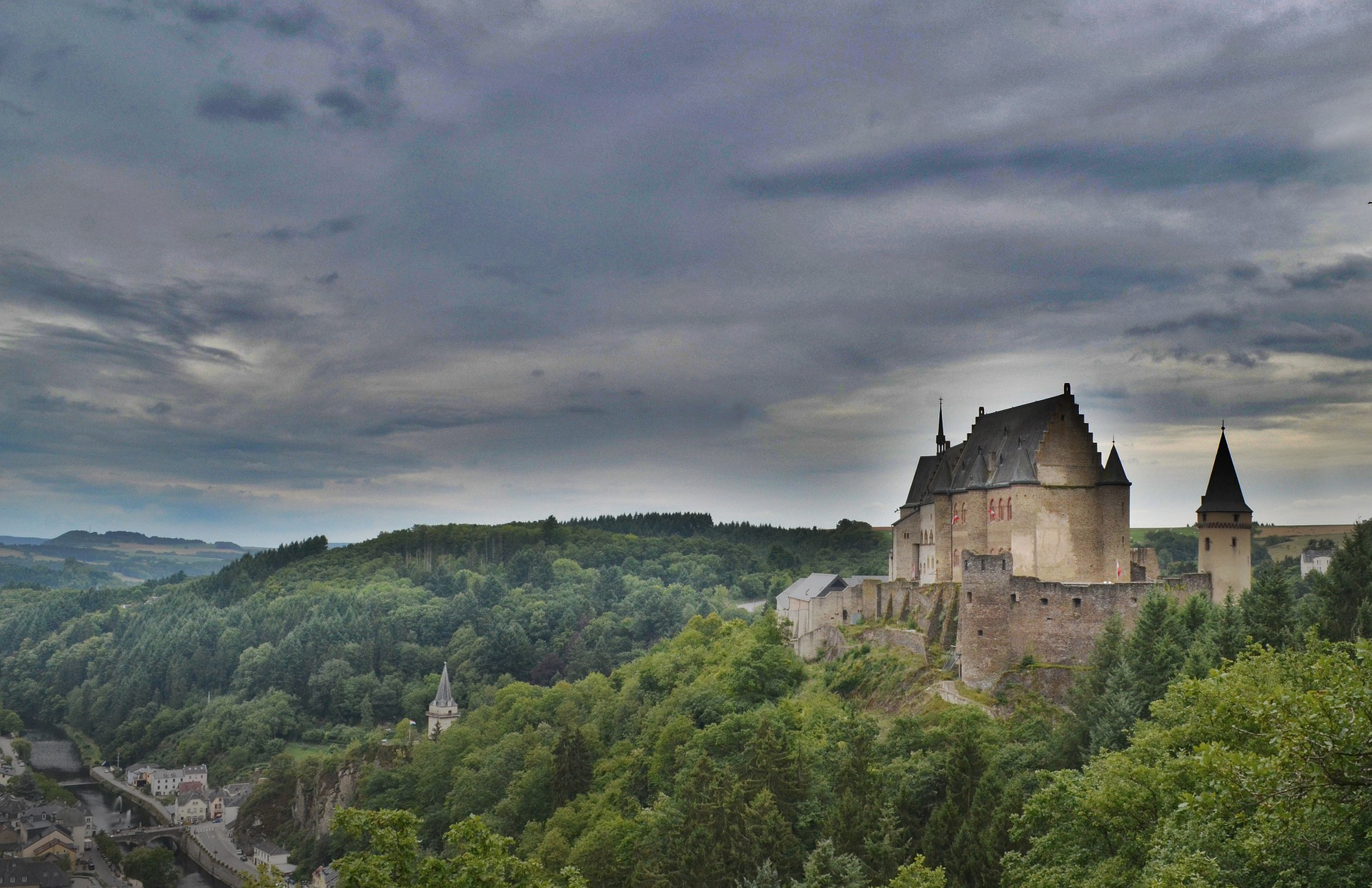 Castle On a Hill Top