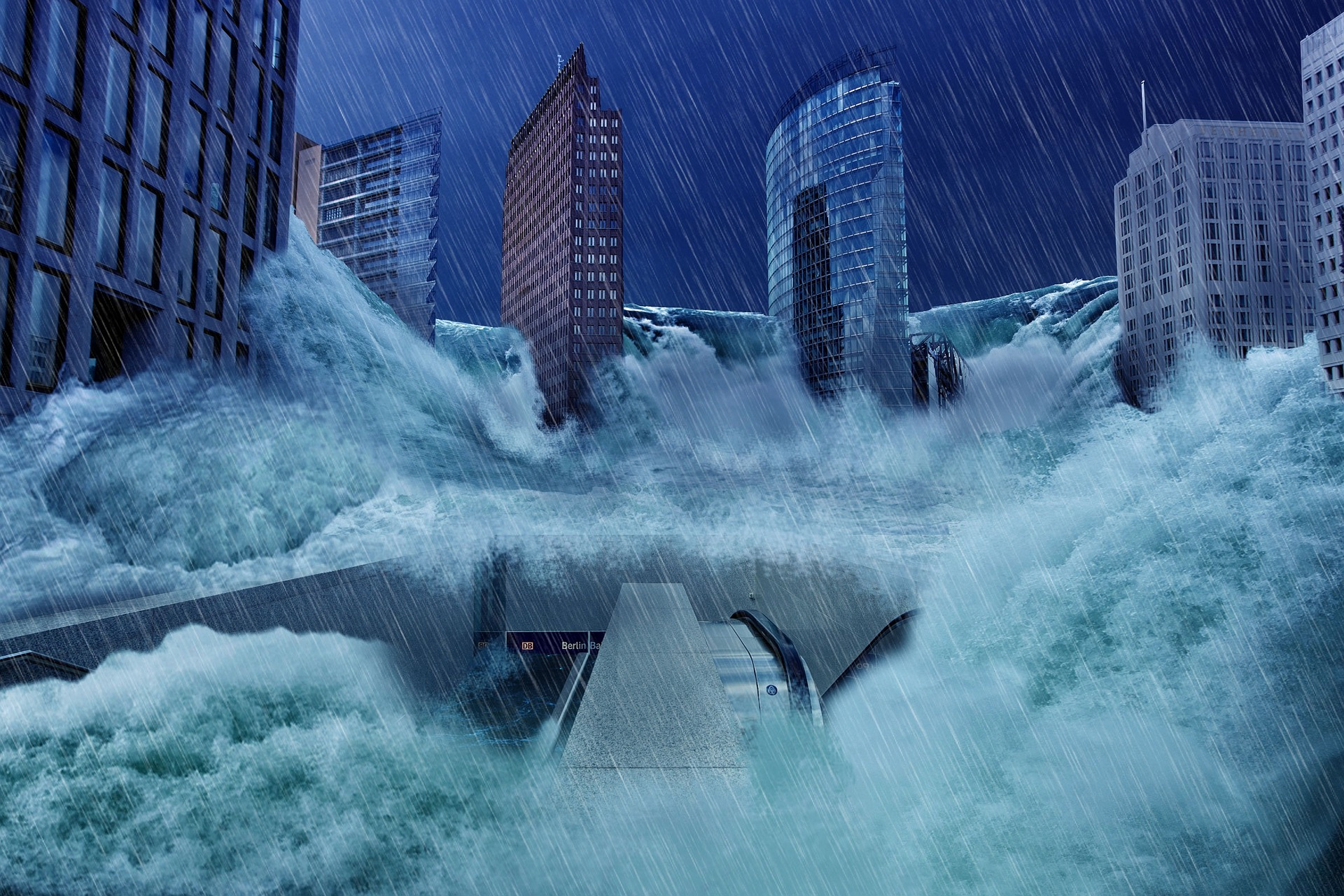 Berlin as Imagined During A Flood